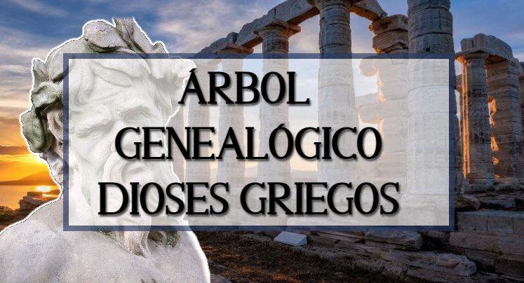 El árbol genealógico completo de los dioses griegos