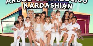 Árbol genealógico de la familia de las famosas Kardashian