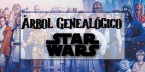 Toda la información sobre el árbol genealógico de la mítica película de Star Wars