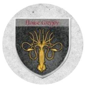 Escudo de la casa Greyjoy